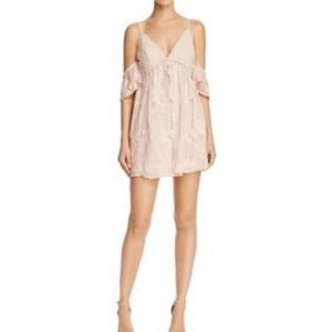 NWT Lovers and Friends Blush Lace Dress